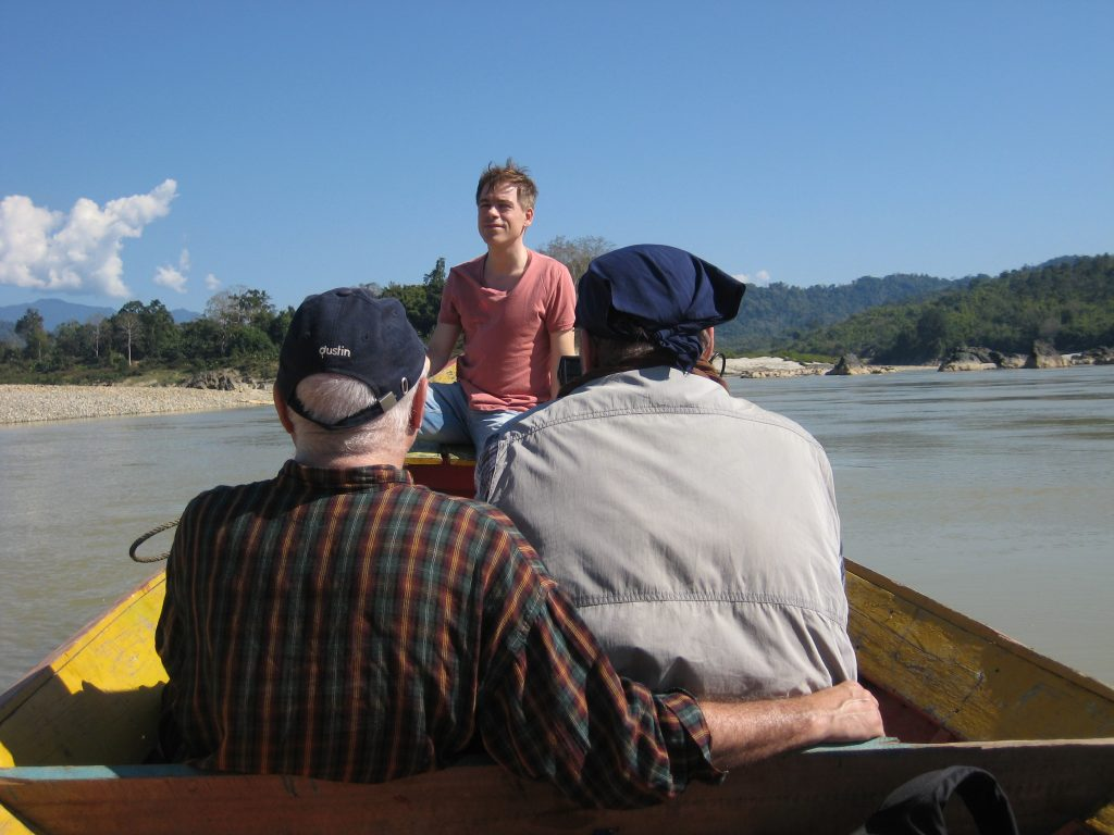 Filming on the Irrawaddy, Kachin State