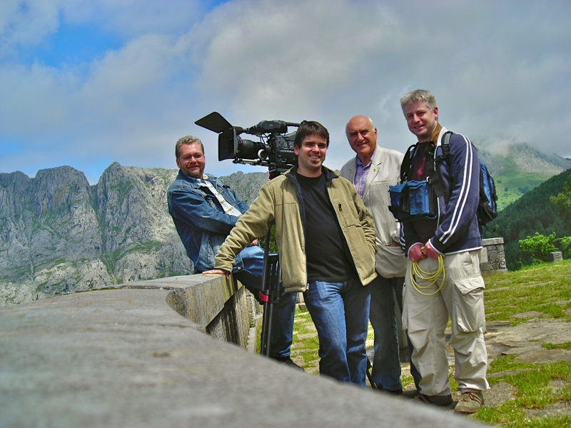 Crew in the Basque Country