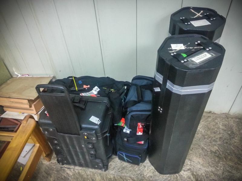 Equipment impounded at Khartoum airport, Sudan